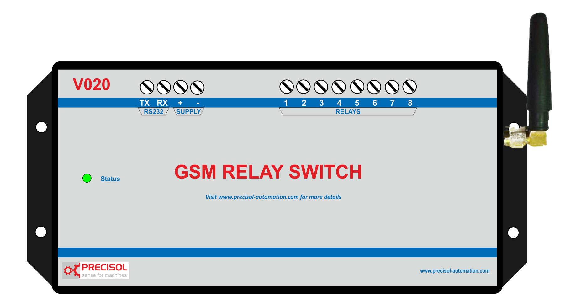 Gsm Relay Switches For Sms Controlled Relays And Electronic On Off What Is A Simple Switch Au101 Usb Data Acquisition Device